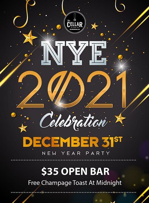 nye party houston 2020 35 open bar no cover the cellar bar nye party houston 2020 35 open bar